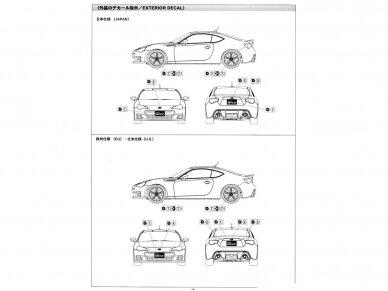 Aoshima - Subaru ZC6 BRZ `12, Mastelis: 1/24, 05161 10