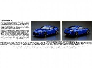 Aoshima - Subaru ZC6 BRZ `12, Mastelis: 1/24, 05161 5