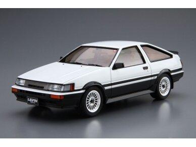 Aoshima - Toyota AE86 Corolla Levin GT-APEX `85, Mastelis: 1/24, 05225 2