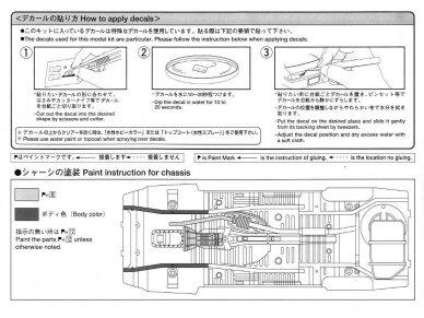 Aoshima - Toyota AE86 Corolla Levin GT-APEX `85, Mastelis: 1/24, 05225 12