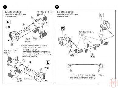 Aoshima - Toyota AE86 Corolla Levin GT-APEX `85, Mastelis: 1/24, 05225 13