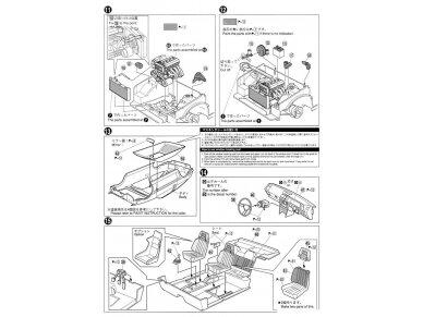 Aoshima - Toyota AE86 Corolla Levin GT-APEX `85, Mastelis: 1/24, 05225 16