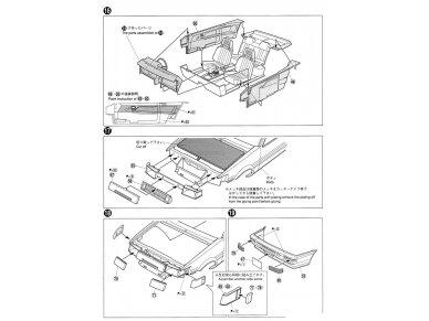 Aoshima - Toyota AE86 Corolla Levin GT-APEX `85, Mastelis: 1/24, 05225 17