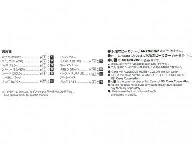 Aoshima - Nissan BNR34 Skyline GT-R V-Spec II '02, Mastelis: 1/24, 05858 6