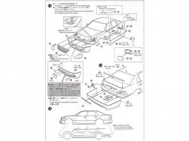 Aoshima - Toyota Celsior Aimgain Cygnus (Lexus LS), Mastelis: 1/24, 04239 11