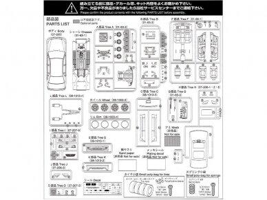 Aoshima - Toyota Celsior Aimgain Cygnus, Mastelis: 1/24, 04239 12