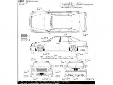 Aoshima - Toyota Celsior Aimgain Cygnus (Lexus LS), Mastelis: 1/24, 04239 6