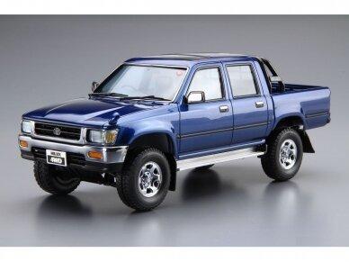 Aoshima - Toyota LN107 Hilux Pickup Double Cab 4WD '94, Scale: 1/24, 05228 2