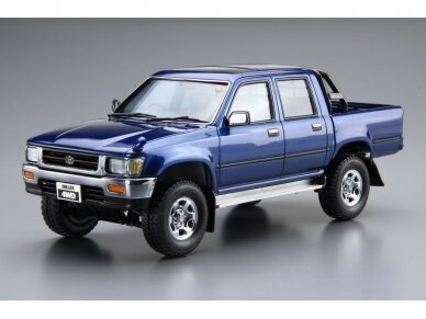 Aoshima - Toyota LN107 Hilux Pickup Double Cab 4WD '94, Scale: 1/24, 05228 2