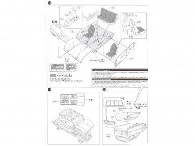 Aoshima - Toyota LN107 Hilux Pickup Double Cab 4WD '94, Scale: 1/24, 05228 11