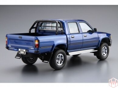 Aoshima - Toyota LN107 Hilux Pickup Double Cab 4WD '94, Scale: 1/24, 05228 3