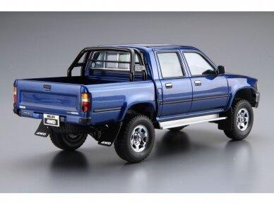 Aoshima - Toyota LN107 Hilux Pickup Double Cab 4WD '94, Mastelis: 1/24, 05228 3