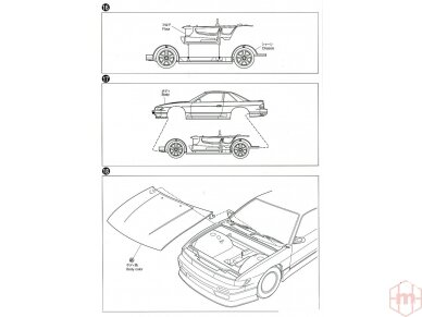 Aoshima - Vertex PS13 Nissan Silvia `91, 1/24, 05861 18