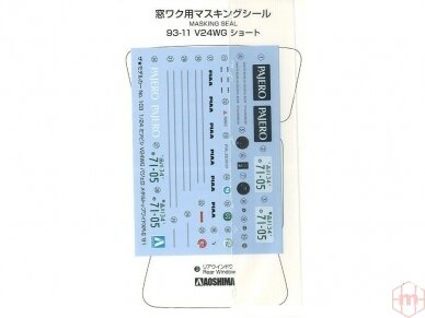Aoshima - Mitsubishi V24WG Pajero Metal Top Wide XR-II '91, Mastelis: 1/24, 05697 4