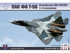 Ark Models - PAK FA T-50, Mastelis: 1/72, 72036