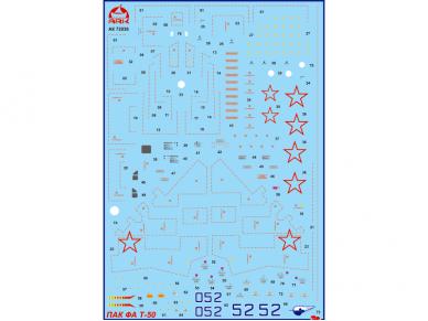 Ark Models - PAK FA T-50, Scale: 1/72, 72036 4
