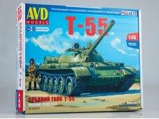 AVD - T-55 tank, Mastelis: 1/43, 3018