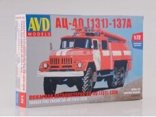 AVD - Fire Engine AC-40 (ZIL-131), Mastelis: 1/72, 1288