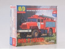 AVD - Fire and Rescue truck PSA-2 (URAL-4320), 1/43, 1301