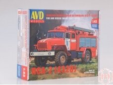 AVD - Fire and Rescue truck PSA-2 (URAL-4320), Mastelis: 1/43, 1301