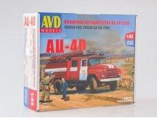 AVD - Fire truck AC-40 (ZIL-130),  1/43, 1034