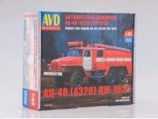 AVD- Fire tanker engine AC-40 (4320) PM-102V, 1/43/, 1300