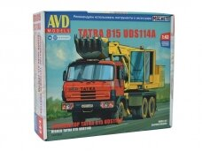 AVD - Truck with excavator UDS-114A (Tatra 815), 1/43, 1431