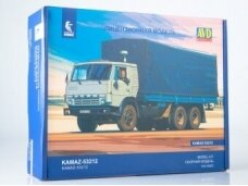 AVD - KAMAZ-53212 flatbed truck with tent, 1/43, 1411