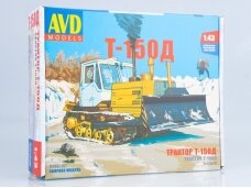 AVD - Caterpillar tractor T-150, Scale: 1/43, 3012