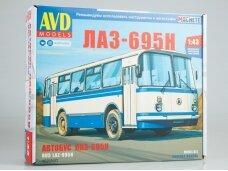 AVD - LAZ-695N bus, Mastelis: 1/43, 4029