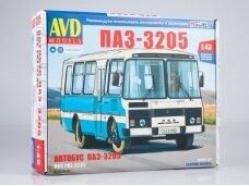 AVD - PAZ-3205 suburban bus, Mastelis: 1/43, 4040