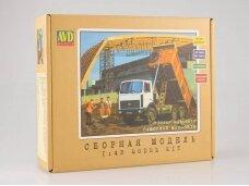 AVD - MAZ-5516 dumper truck, Mastelis: 1/43, 1168