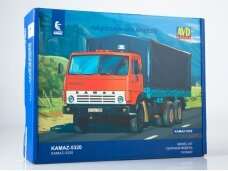 AVD - KAMAZ-5320 flatbed with tent, 1/43, 1410