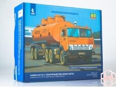 AVD - KAMAZ-54112 tractor truck with tanker semitrailer, Mastelis: 1/43, 7061