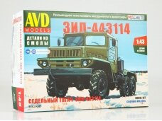AVD -  ZIL-443114 tractor truck, Scale: 1/43, 1462