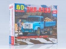 AVD - ZIL-4333 flatbed truck, Mastelis: 1/43, 1260