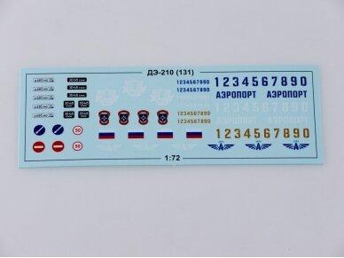 AVD - Snowplow DE-210 (ZIL-131), Mastelis: 1/72, 1292 3