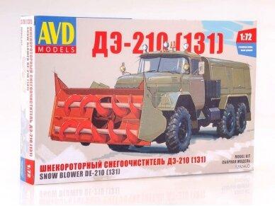 AVD - Snowplow DE-210 (ZIL-131), Mastelis: 1/72, 1292