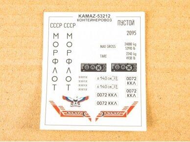 AVD - KAMAZ-53212 wtih 20ft container, Mastelis: 1/43, 1420 4