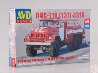 AVD - PNS-110 (ZIL-131 Fire Engine, Mastelis: 1/72, 1293