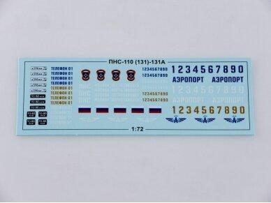 AVD - PNS-110 (ZIL-131 Fire Engine, Mastelis: 1/72, 1293 4