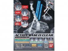 Bandai - Action Base 1 Clear, 57417