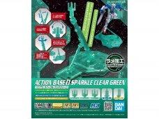 Bandai - Action Bazė 1 skaidri žalia, 58283