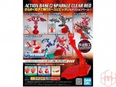 Bandai - Action Bazė 2 skaidri raudona, 54456