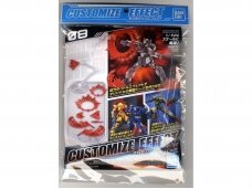 Bandai - Customize Effect (Action Image Ver.) [Red], 1/144, 61323