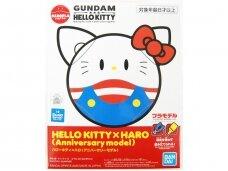 Bandai - Haropla Hello Kitty x Haro Anniversary Model, 59123