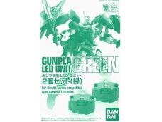 Bandai - Gunpla LED Unit, Green  (2pcs set.), 73118