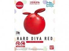 Bandai - Haropla Haro diva red, 28375
