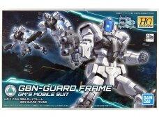 Bandai - HG Build Divers GBN-Guard Frame GM's Mobile Suit, Mastelis: 1/144, 55360