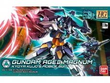 Bandai - HG Build Divers Gundam Age II Magnum, Scale: 1/144, 25725